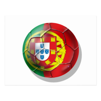 Portugal National football soccer team fans Tees Post Card