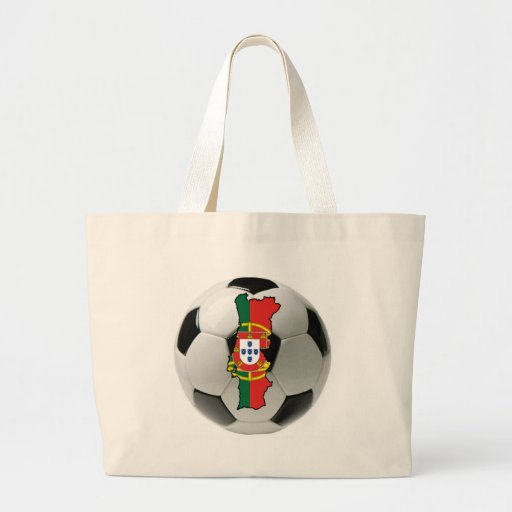 Portugal national team tote bag