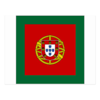 Portugal Naval Jack Postcard
