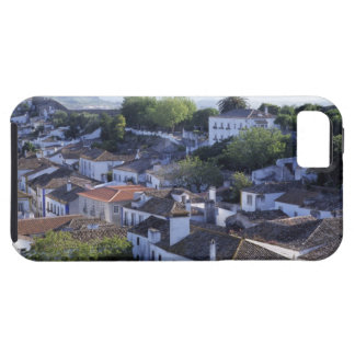 Portugal, Obidos. Elevated view of whitewashed iPhone SE/5/5s Case