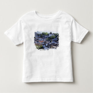 Portugal, Obidos. Elevated view of whitewashed Toddler T-shirt