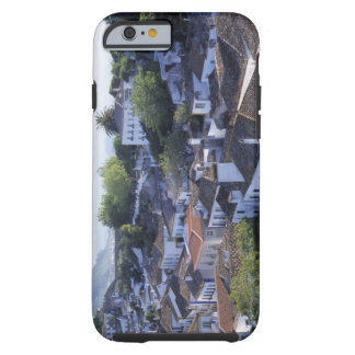Portugal, Obidos. Elevated view of whitewashed Tough iPhone 6 Case