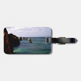 Portugal Ocean - Teal & Azure Paradise Bag Tag