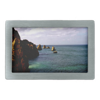 Portugal Ocean - Teal & Azure Paradise Belt Buckle