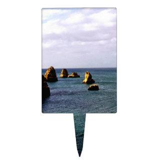 Portugal Ocean - Teal & Azure Paradise Cake Pick