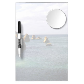 Portugal Ocean - Teal & Azure Paradise Dry Erase White Board