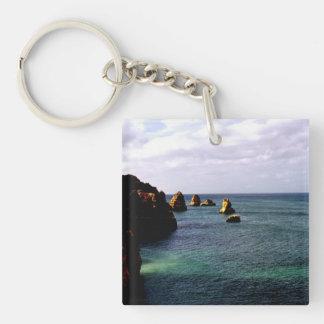 Portugal Ocean - Teal & Azure Paradise Keychain