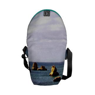 Portugal Ocean - Teal & Azure Paradise Messenger Bag