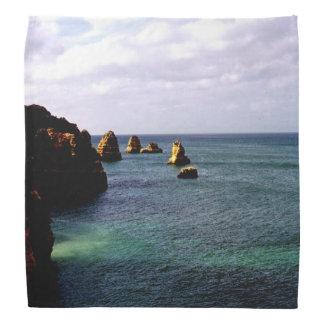 Portugal Ocean, Teal & Azure Paradise Sea Bandana