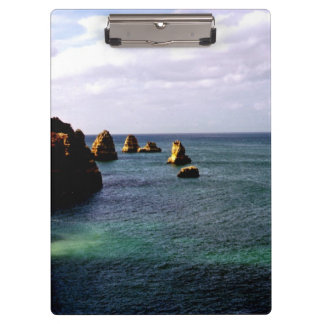 Portugal Ocean, Teal & Azure Paradise Sea Clipboards