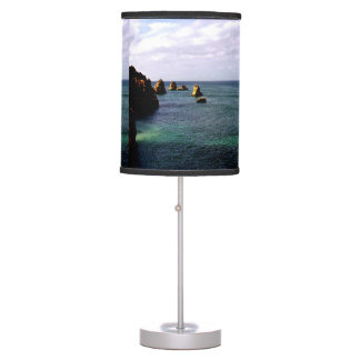 Portugal Ocean, Teal & Azure Paradise Sea Desk Lamp