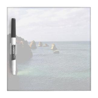 Portugal Ocean, Teal & Azure Paradise Sea Dry-Erase Board