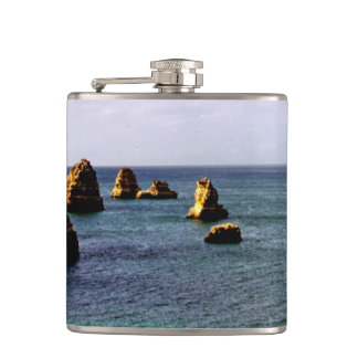 Portugal Ocean, Teal & Azure Paradise Sea Flask