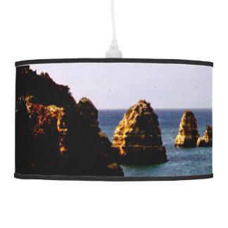Portugal Ocean, Teal & Azure Paradise Sea Hanging Lamp