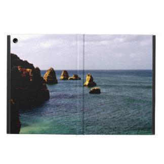 Portugal Ocean, Teal & Azure Paradise Sea iPad Air Cover