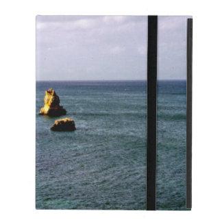 Portugal Ocean, Teal & Azure Paradise Sea iPad Cover