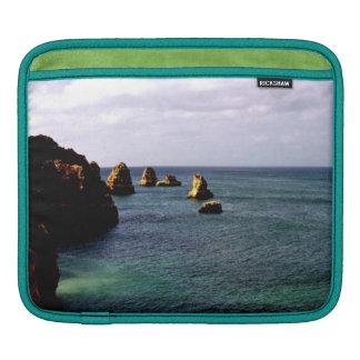 Portugal Ocean, Teal & Azure Paradise Sea iPad Sleeve