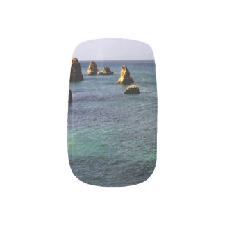 Portugal Ocean, Teal & Azure Paradise Sea Minx Nail Wraps