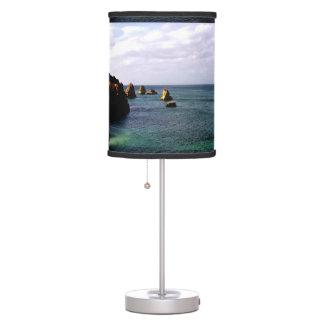 Portugal Ocean, Teal & Azure Paradise Sea Table Lamp