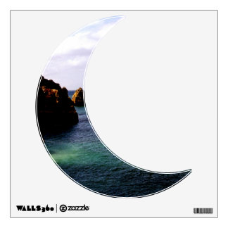 Portugal Ocean, Teal & Azure Paradise Sea Wall Sticker