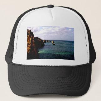 Portugal Oceanscape - Teal & Azure Paradise Trucker Hat
