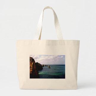 Portugal Oceanscape - trullo y paraíso del azul Bolsas