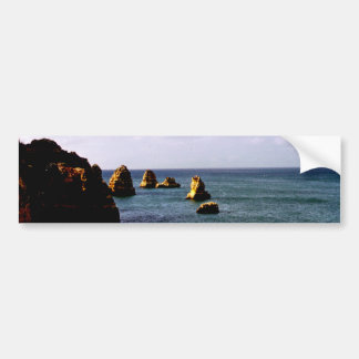 Portugal Oceanscape - trullo y paraíso del azul Pegatina Para Auto