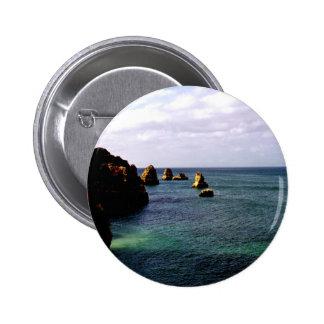 Portugal Oceanscape - trullo y paraíso del azul Pin