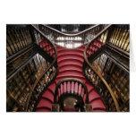 Portugal, Oporto (Oporto). Escaleras en histórico Tarjeta De Felicitación