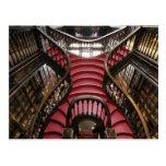 Portugal, Oporto (Oporto). Escaleras en histórico Postal