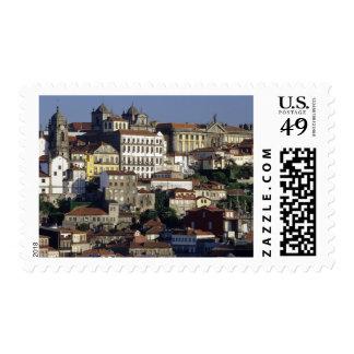 Portugal, Oporto (Porto). Historic houses and Postage Stamp