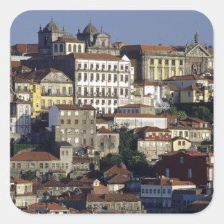 Portugal, Oporto (Porto). Historic houses and Square Sticker