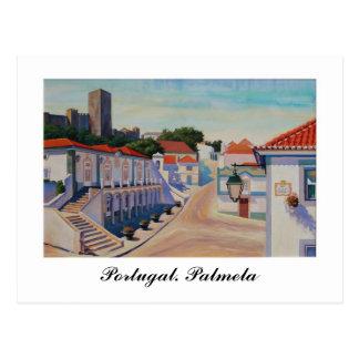 Portugal. Palmela Postcard