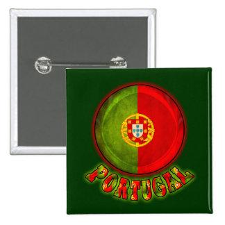 Portugal Pin Cuadrada 5 Cm