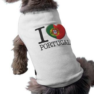 Portugal Playera Sin Mangas Para Perro
