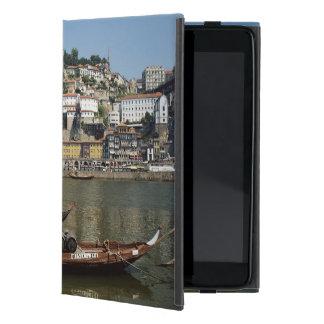 Portugal, Porto, Boat With Wine Barrels Cover For iPad Mini