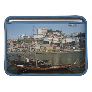 Portugal, Porto, Boat With Wine Barrels MacBook Air Sleeves