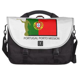 PORTUGAL PORTO MISSION LDS CTR LAPTOP COMMUTER BAG