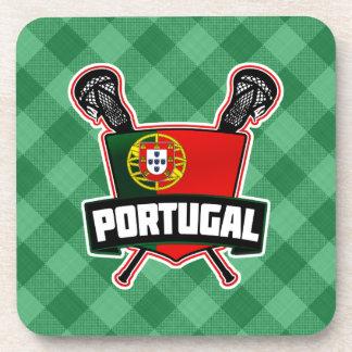 Portugal Português Lacrosse Cork Coasters