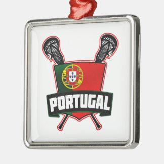 Portugal Português Lacrosse Christmas Ornament