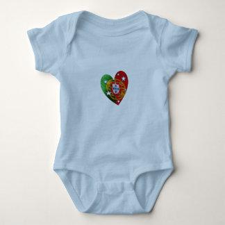Portugal: Portuguese-American kid Baby Bodysuit