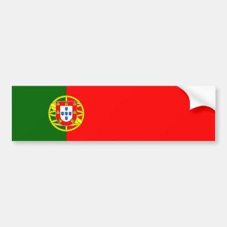 Portugal - Portuguese Flag Car Bumper Sticker