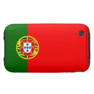 Portugal - Portuguese Flag Tough iPhone 3 Covers
