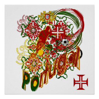 Portugal - Protuguesa Selection Impression Poster