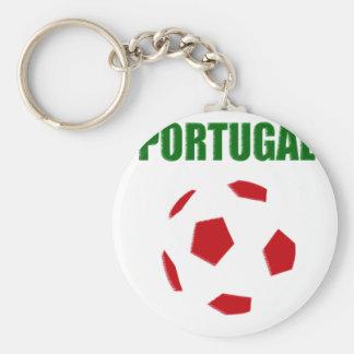 Portugal retro soccer t-shirt keychain