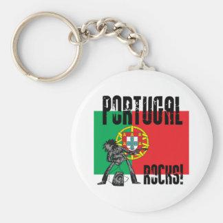 Portugal Rocks Keychain