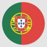 portugal round stickers