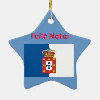 Portugal Royal Flag* and Sintra Christmas Ornament