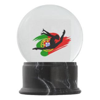 Portugal Rythmic Gymnast Snow Globe