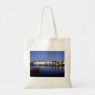 Portugal Seaside I - Sapphire & Crimson Magic Tote Bags